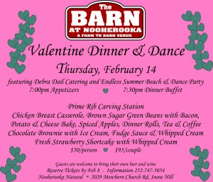 Valentines 2019 at The Barn
